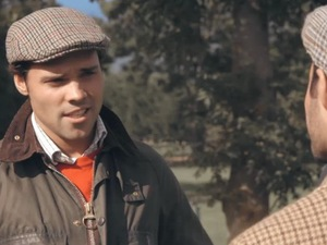 Made In Chelsea's Andy Jordan goes shooting with Spencer Matthews. Episode Monday 18 November 2013.