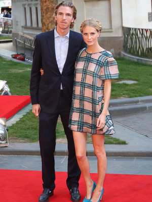 Poppy Delevingne and her fiance James Cook at the Rush premiere, Sep 13.