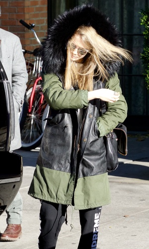 Cara Delevingne seen in the East Village in New York City, 18.11.13