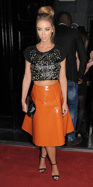 Lauren Pope attends the 9 Swallow Street launch party, 22 November 2013