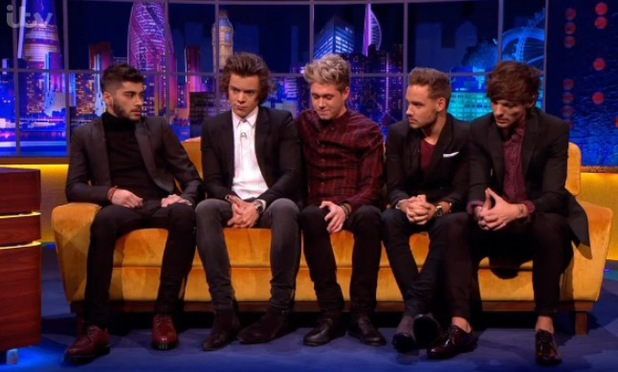 One Direction on The Jonathan Ross Show - 16.11.2013