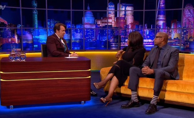 Oprah Winfrey and Forest Whitaker on The Jonathan Ross Show - 16.11.2013