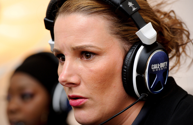 Sam Bailey concentration face