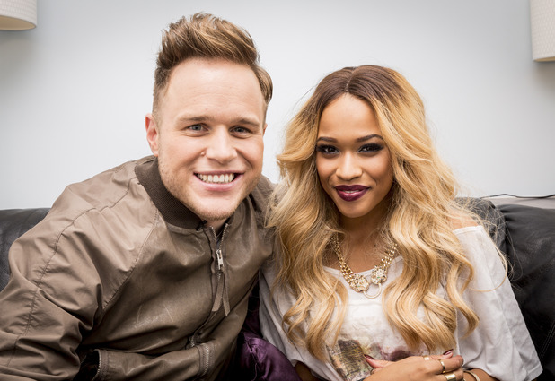 The X Factor Tamera Foster meeting Olly Murs, London, Britain - 19 Nov 2013