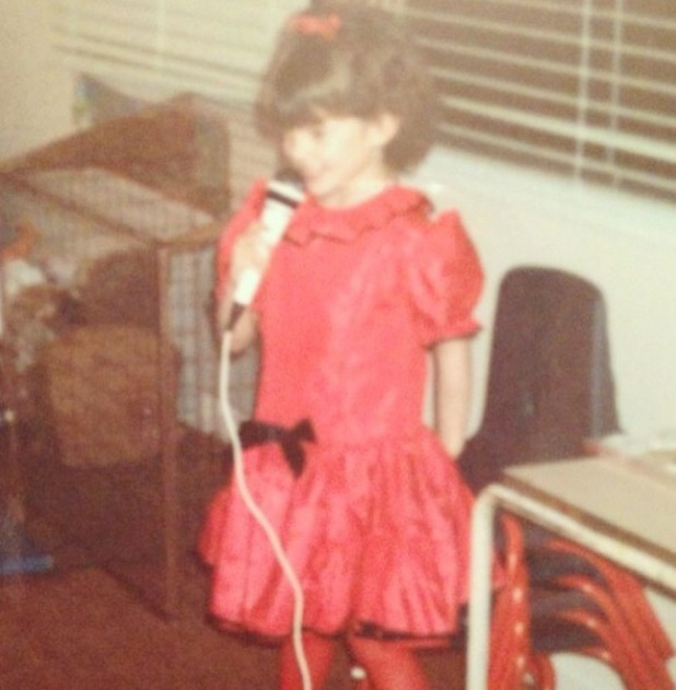 """Danielle Lloyd throwback picture: """"I was obviously always a little performer"""" 19.11.13"""