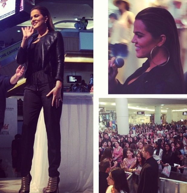 Khloe Kardashian at Kardashian Kollection clothing launch in Sydney - 21.11.2013