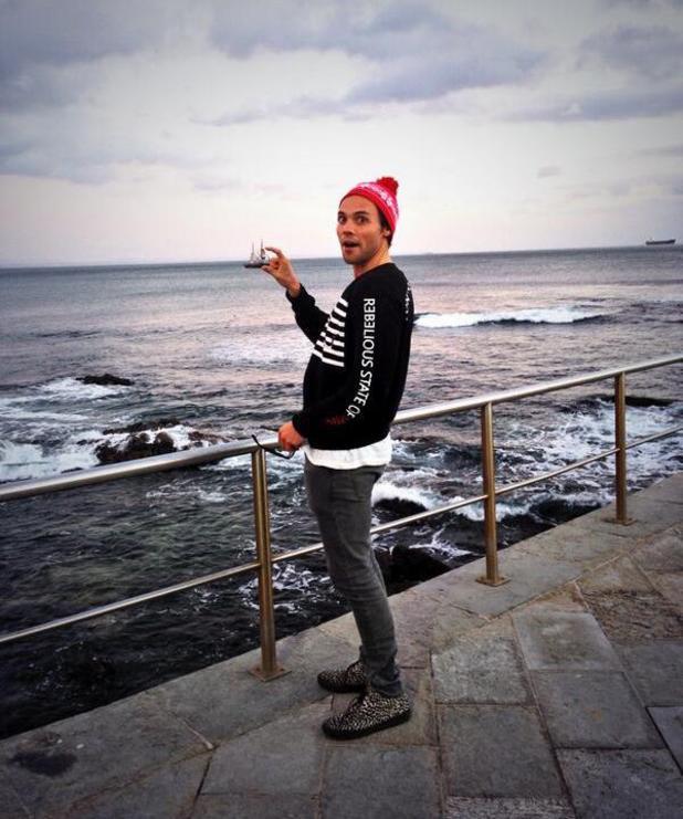 Made In Chelsea's Andy Jordan in Estoril, Portugal with singer Mia Rose - 17 November 2013