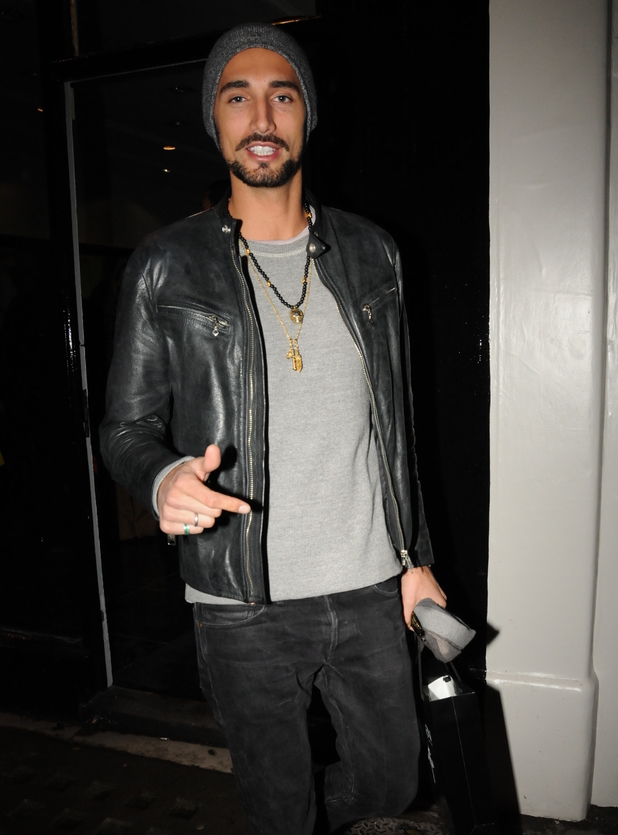 Hugo Taylor at the launch of new Parisian hair salon, Guild on the Kings Road, 20.11.13
