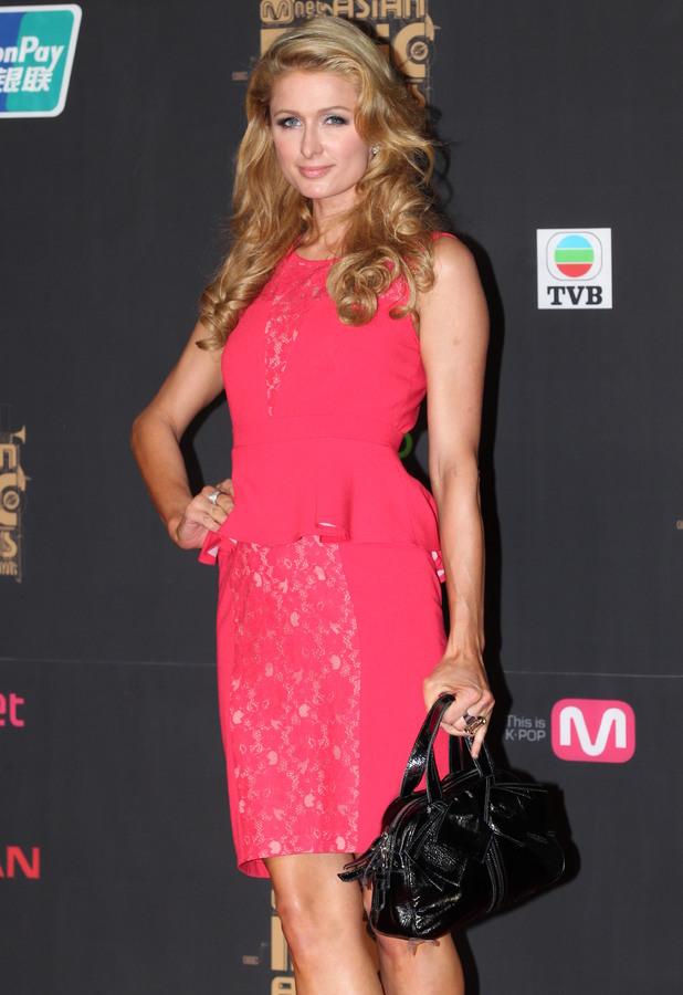 Paris Hilton - Mnet Asian Music Awards in Hong Kong - 22 Nov 2013
