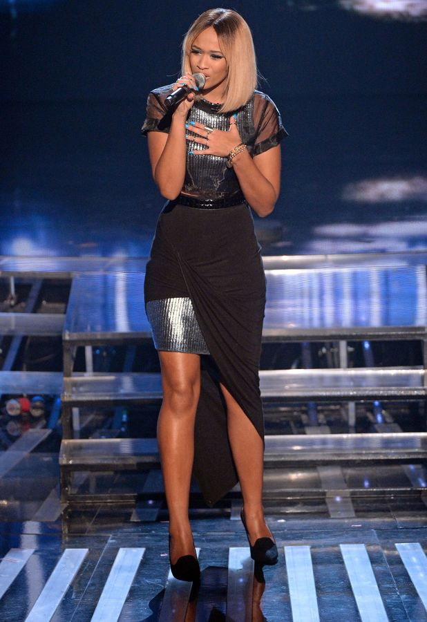 Tamera Foster performs on 'The X Factor' TV show, London, Britain - 23 Nov 2013