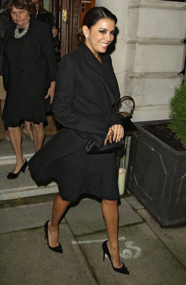 John Caudwell party, London, Britain - 18 Nov 2013 Eva Longoria