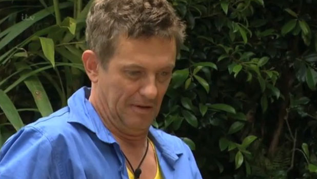 Matthew Wright faces Joey Essex in the Bush Tucker Trial eating challenge, aired 18 November 2013