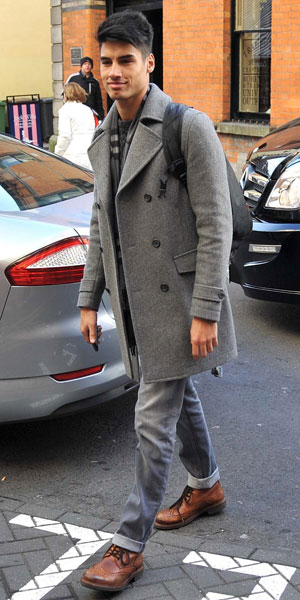The Wanted arrive in Dublin ahead of HMV Dundrum signing and Childline Concert 2013: Siva Kaneswaran, 19 November 2013