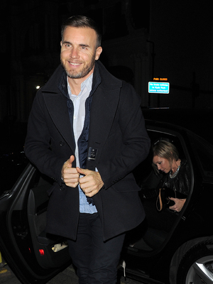 The X Factor judges enjoy a night out at Mr Chow restaurant after filming X Factor results show Gary Barlow 11/24/2013