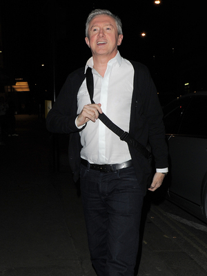 The X Factor judges enjoy a night out at Mr Chow restaurant after filming X Factor results show Louis Walsh 11/24/2013