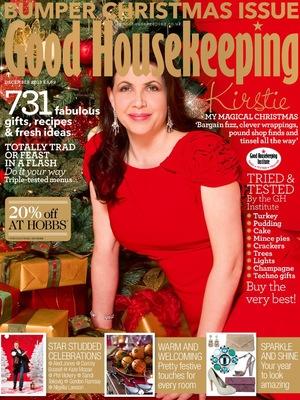 good housekeeping cover dec 2013