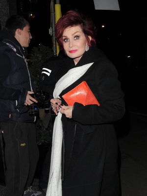 The X Factor judges enjoy a night out at Mr Chow restaurant after filming X Factor results show Sharon Osbourne 11/24/2013