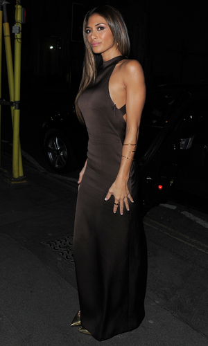 Nicole Scherzinger - The X Factor judges enjoy a night out at Mr Chow restaurant after filming X Factor results show 11/24/2013