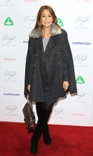 Celebrities attend Mothercare - VIP Christmas party at Mothercare Store - Rachel Stevens 11/28/2013.