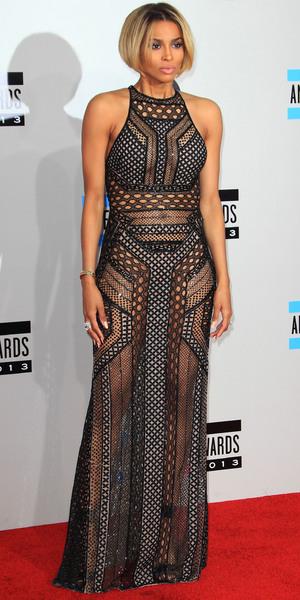 Ciara at the American Music Awards in Los Angeles - 24 November 2013