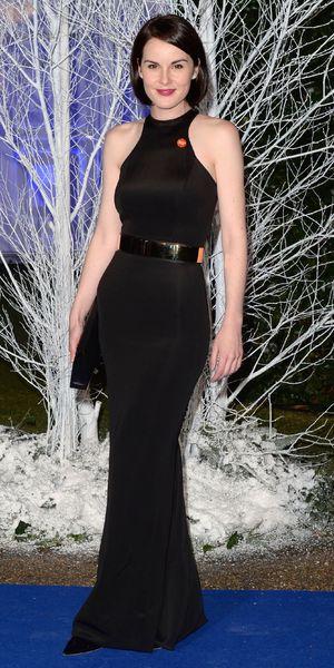 Michelle Dockery attends the Winter Whites Centrepoint Gala, Kensington Palace, London, Britain - 26 Nov 2013