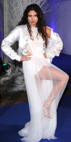 Eliza Doolittle attends the Winter Whites Centrepoint Gala, Kensington Palace, London, Britain - 26 Nov 2013