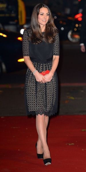 Kate Middleton, Duchess of Cambridge, attends Sportsaid 2013, London - 28 Nov 2013
