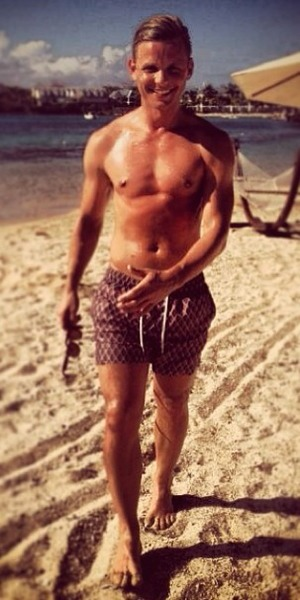 Jeff Brazier shares pics of his recent holiday in Australia, 28 November 2013
