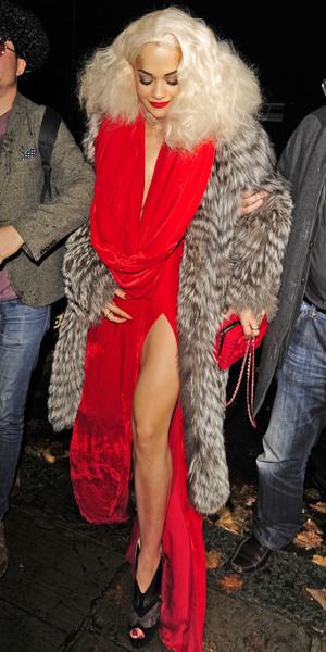 Rita Ora's birthday celebrations at Box club in London, Soho - 26 November 2013