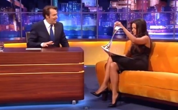 Michelle Keegan on The Jonathan Ross Show. ITV - 23 November 2013.