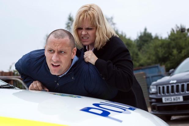 Hollyoaks, Tony arrested, Thu 28 Nov