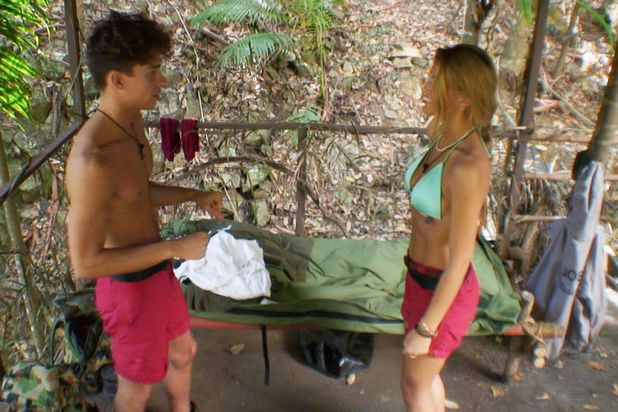 'I'm A Celebrity Get Me Out Of Here' TV Programme, Australia - 28 Nov 2013 Joey Essex and Amy Willerton