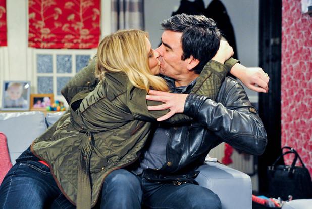 Emmerdale, Charity kisses Cain, Thu 28 Nov