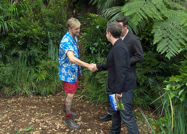'I'm A Celebrity Get Me Out Of Here' TV Programme, Australia - 26 Nov 2013 Kian Egan - Bushtucker Trial - Cave Danger 26 Nov 2013