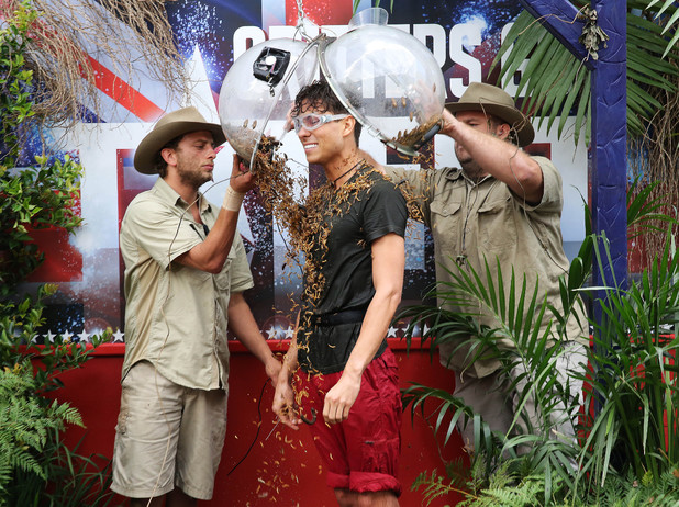 'I'm A Celebrity Get Me Out Of Here' TV Programme, Australia - 24 Nov 2013 Joey Essex - Bushtucker Trial - Factory Canteen