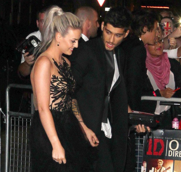 'One Direction: This Is Us' film premiere after party, London, Britain - 20 Aug 2013 Perrie Edwards and Zayn Malik