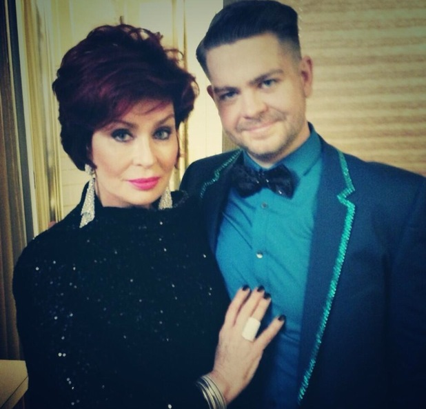 Jack Osbourne and mum Sharon at Dancing With The Stars final - 26 November 2013