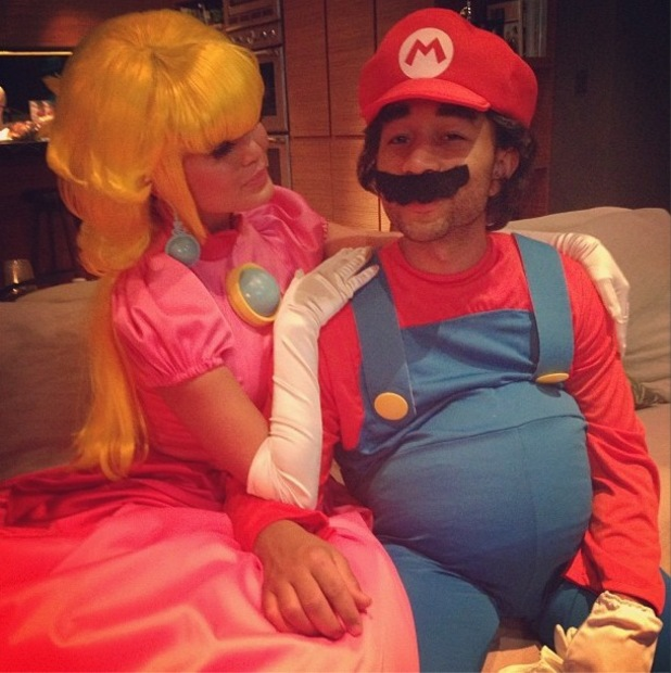 John Legend celebrates his wife, Chrissy Teigen's birthday by dressing up as popular gaming character, Mario!