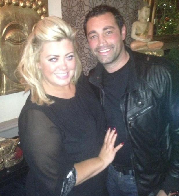 TOWIE's Gemma Collins and Rami Hawash enjoy a date night at Sugar Hut - 28 November 2013