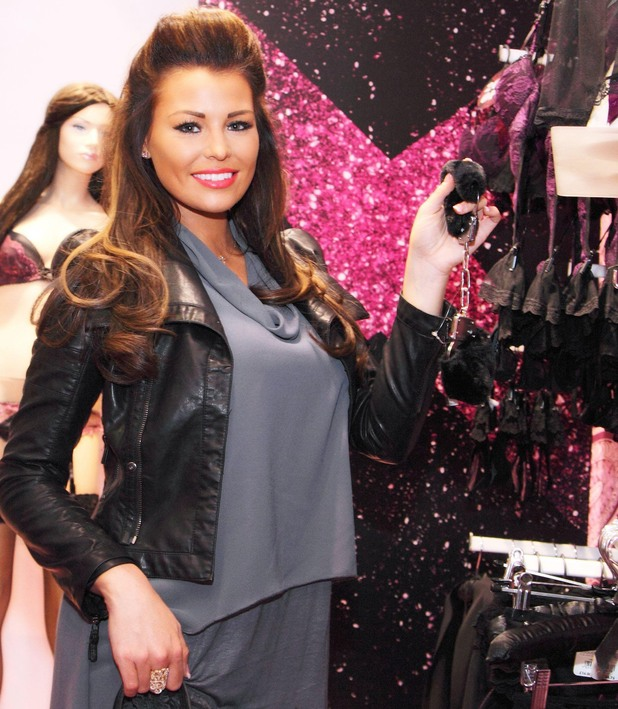 Ann Summers Christmas event, Lakeside shopping centre, Grays, Britain - 27 Nov 2013 Jessica Wright