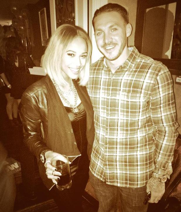 Kirk Norcross parties with X Factor's Tamera Foster in London - 26 November 2013