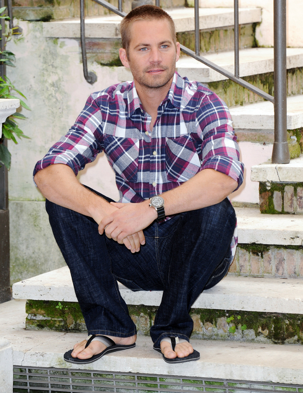 Paul Walker attends a photocall for Fast & Furious 5: Rio Heist at the Hassler hotel, Rome - 29.04.11