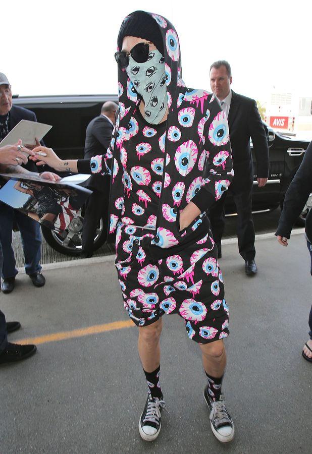 Ke$ha arrives at LAX airport in Los Angeles - 26 November 2013