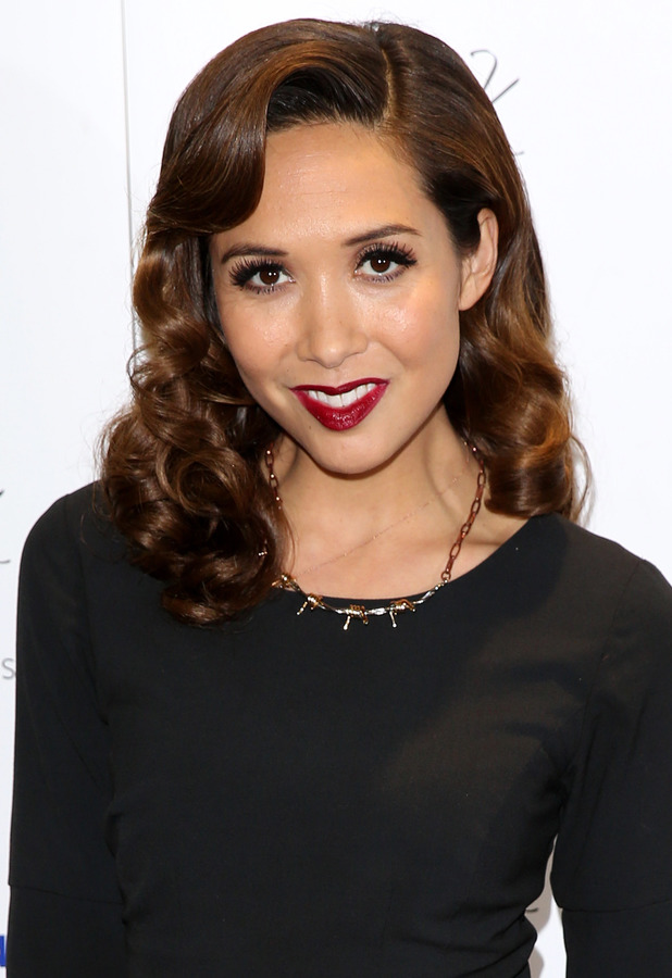 Myleene Klass at the Mothercare Christmas Party in London - 28 November 2013