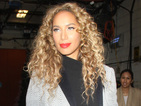 Leona Lewis stuns in £79.50 Debenhams grey ombre coat while out in New York