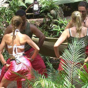 'I'm A Celebrity Get Me Out Of Here' TV Programme, Australia - 03 Dec 2013 Joey Essex, Alfonso Ribeiro, Rebecca Adlington and David Emanuel dancing