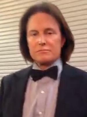Bruce Jenner on set of Kardashian Christmas card shoot - 4 December 2013