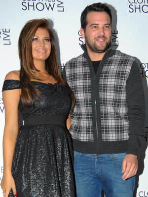 Jessica Wright and Ricky Rayment at Clothes Show Live at Birmingham's NEC - Day 1 12/06/2013. Birmingham, United Kingdom