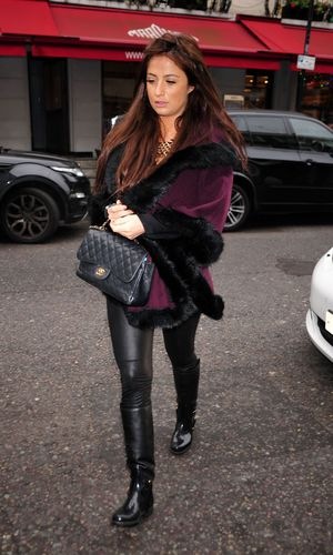 Chantelle Houghton out and about in London, Britain - 03 Dec 2013