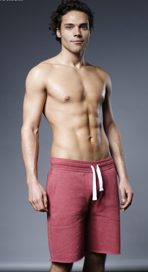 Men's Health magazine six-pack challenge for the Made In Chelsea boys Pictured: Andy Jordan